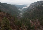 Oak Creek Canyon viewed from the top looking South