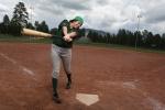 City Baseball Player