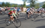 Bicyclists take off from the starting line for the 15th annual Pepsi-Cola Century Ride to benefit Flagstaff Medical Center's Taylor House Saturday morning.