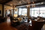 The common lounge area for residents at The Village at Aspen Place.