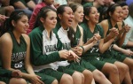 The Flagstaff High School team cheers from the bench after winning against Coconino Friday night.