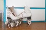 Quirky details adorn every corner of Headspace Southside Salon. VillaVerde keeps her roller-skates in a corner.