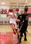 Coconino High School's Brett McGowan (25) looks for a shot during game action against Ironwood Wednesday.